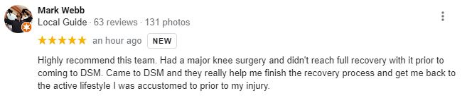 Chiropractic Lakewood CO Patient Testimonial